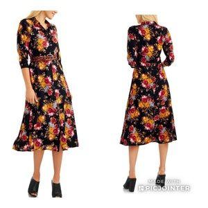 2/$20 Time and Tru Button up Maxi Dress sz XXL